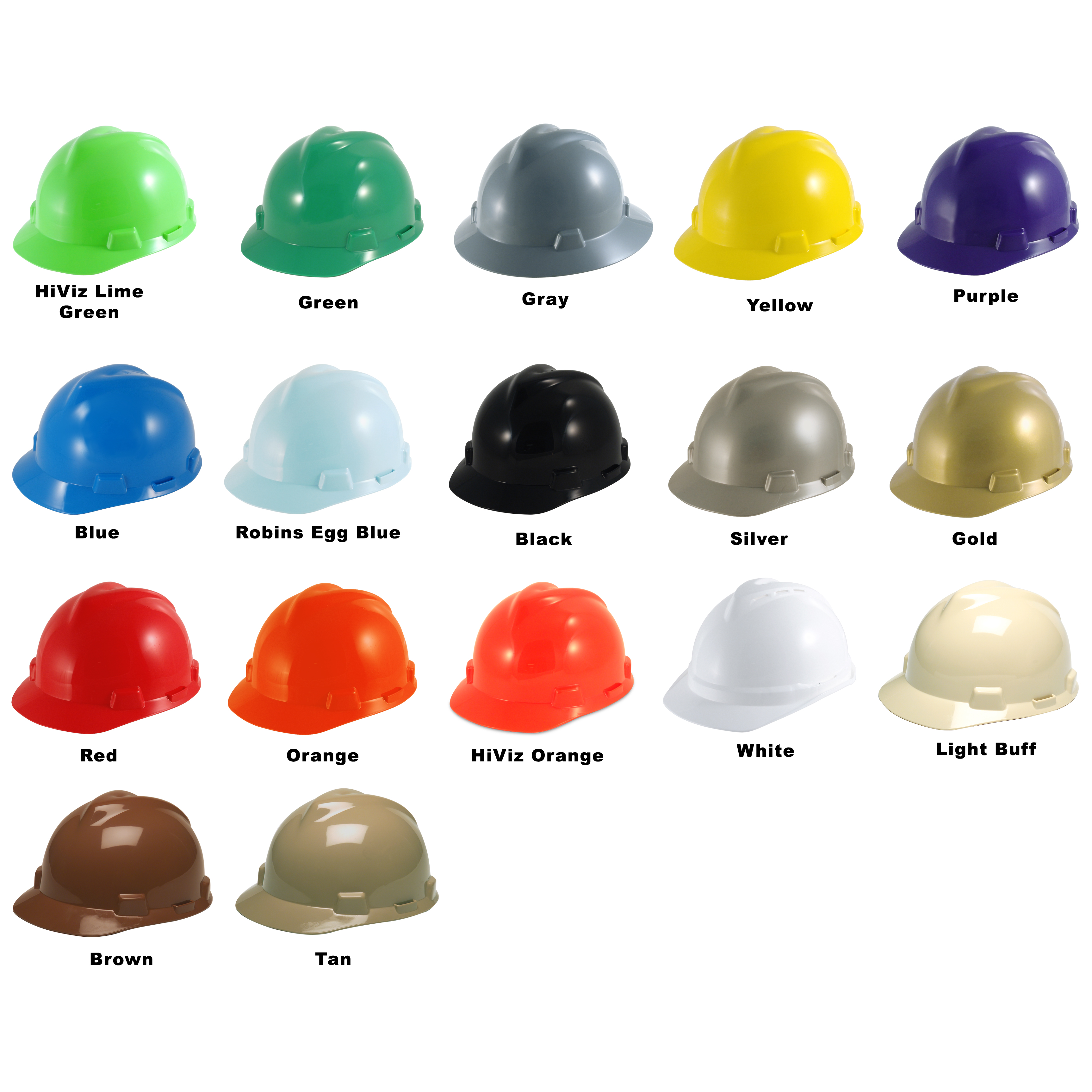 09677b238 The MSA V-Gard Staz-On Slotted Protective Cap is an ideal basic hard hat ...