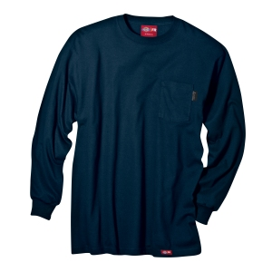 CSGSHMT1000026566_-00_Navy_Dickies-Flame-Resistant-Long-Sleeve-Tee