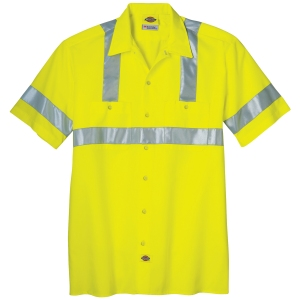 CGDKVS100_-00_Yellow_Front_Dickies-Mens-High-Visibility-Class-2-Short-Sleeve-Work-Shirt