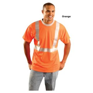 LUX-SSTPC2_-00_Orange_Front_Mesh-T-Shirt-ANSI-Class-2